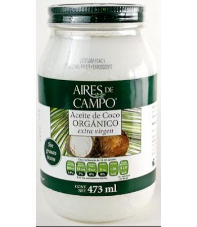 ACEITE DE COCO 473 ML AIRES DE CAMPO