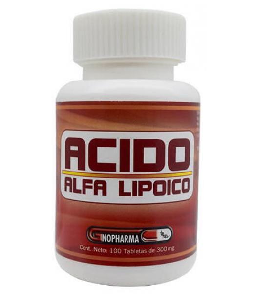 ACIDO ALFALIPIOCO 100 TAB GNOPHARMA