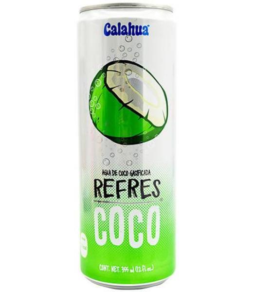 AGUA DE COCO GASIFICADA 355 ML REFRESCOCO