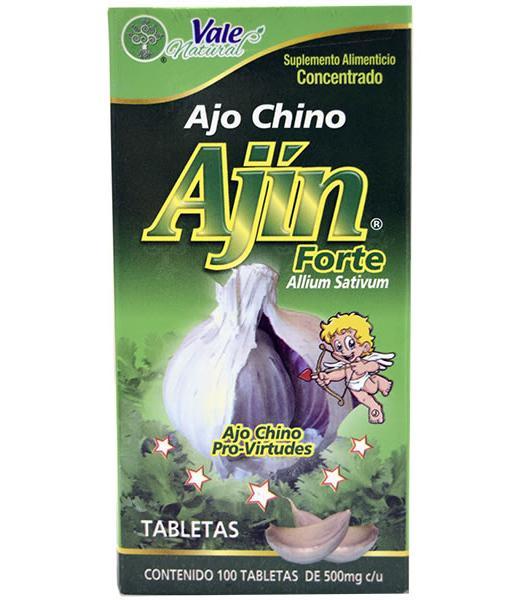 AJO CHINO 100 TAB VALE NATURAL