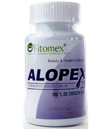 ALOPEX ESTIMULANTE DERMO CAPILAR 90 CAPS FITOMEX