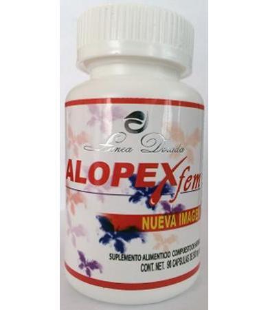 ALOPEX FEM 90 CAPS FITOMEX