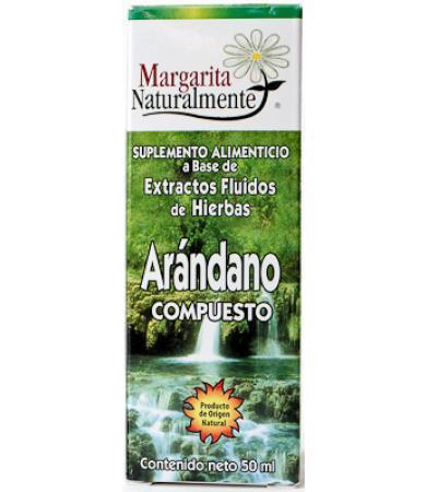 ARANDANO COMPUESTO 50 ML MARGARITA NATURAL