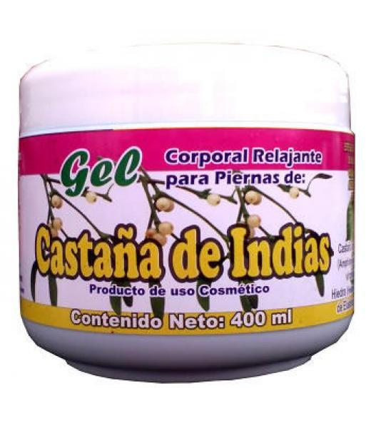 GEL CASTAÑO DE INDIAS 400 ML GEL CORPORAL RELAJANTE
