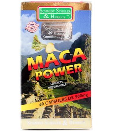 MACA POWER 60 CAP SCHULER