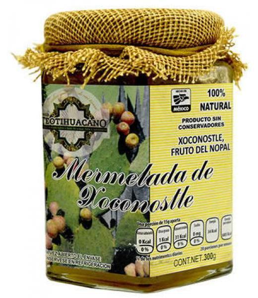 MERMELADA DE XOCONOSTLE 300 G TEOTIHUACANO