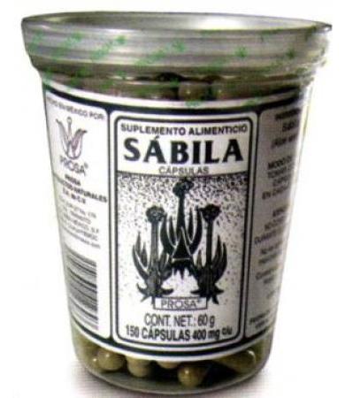 SABILA 150 CAP PROSA
