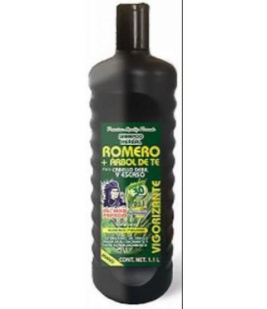 SHAMPOO ROMERO Y ARBOL DE TE 1.1 LT DEL INDIO PAPAGO