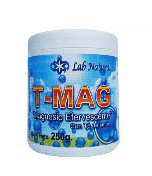 TARRO T-MAG 250GR MAGNESIO EFERVECENTE CON TE DE LIMON LAB. NATURAL ENERGY AND NUTRITION